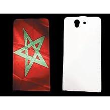 leather Sony Xperia Z Maroc - - ? case blanche - Maroc1 -