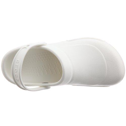 Mixte White Sabots Specialist Crocs Blanc Adulte qa7nExxv
