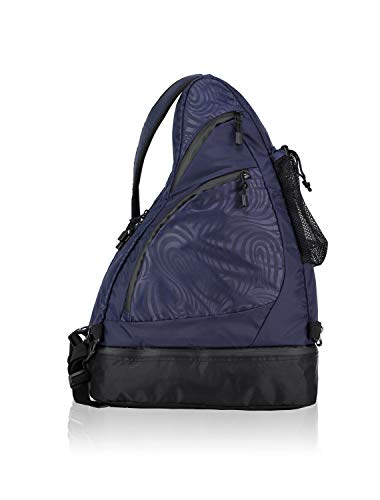 Bag Tech Tote Nylon - AmeriBag Healthy Back Bag Tote Great Outdoors Tech Medium (Indigo)