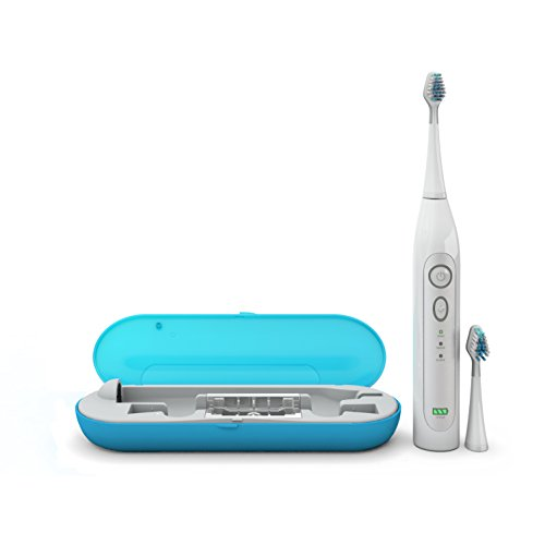 Amazon.com: Dazzlepro Elite Sonic Toothbrush with UV Sanitizing Storage Case, Sky: Beauty