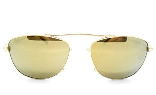 Matsuda M3051 Brushed Gold Aviator - Matsuda Sunglasses