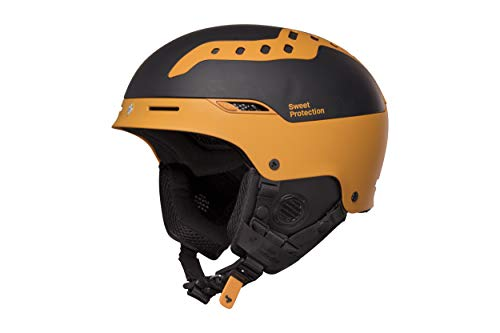 Sweet Protection Switcher MIPS Ski and Snowboard Helmet, Matte Black/Brown Tundra, -