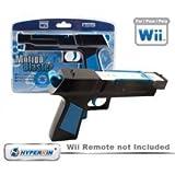 DDR Game Nintendo Wii Hyperkin Motion Blaster Gun (Black)