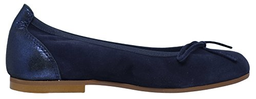 Clic! 9485 Ballerina mit Schleife und Fersenkappe Blau (ante/cosmoa azul)