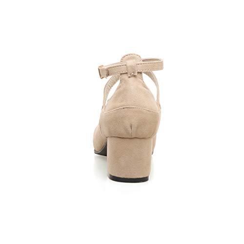 Alla Con Donna Cinturino Apricot Z71121 Caviglia Jieeme wtZS5x