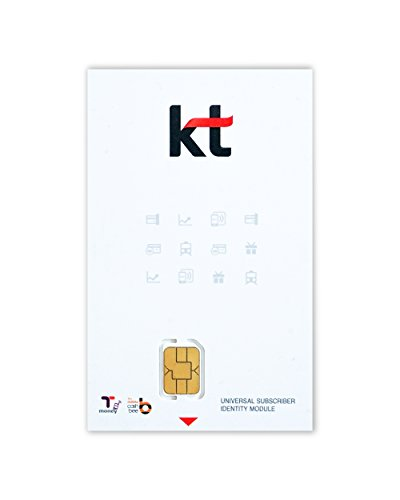 (Time Limit from $72.95 to $58.99 | Korea SIM Card by Korea Telecom | Unlimited Data for 30 Days | 4G LTE | Data Tethering and Hotspot Available | Local)