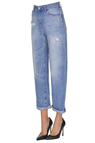 Motel Algodon Azul Jeans Mujer Mcgldnm000005041e rqYzwrH