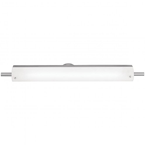 Thomas Lighting SL715378 Pendenza Collection 3 Light Bath Light, Brushed Nickel
