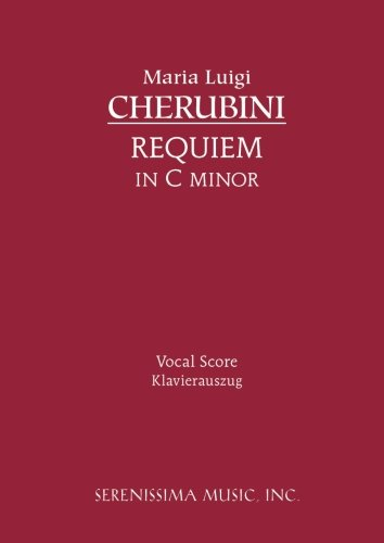 Requiem in C minor: Vocal score (Latin Edition) by Brand: Serenissima Music, Incorporated