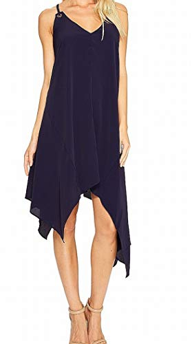 Adelyn Rae Women's Georgina Shift Dress Navy Dress