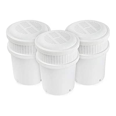 AquaBliss 3-Pack Replacement Water Filter Pitcher Cartridges