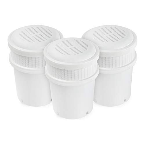 AquaBliss 3-Pack Replacement Water Filter Pitcher Cartridges ()