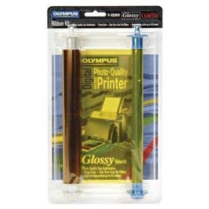 Ink, P-rbww Gloss Ribbon for P-400 & by Olympus
