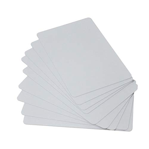 Proximity Blank White NFC PVC ISO Cards 13.56MHz Contactless RFID Smart Chip Card for Access Control System 10Packs