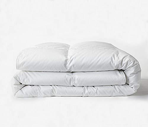 Bokser Home All Season Down Alternative Duvet Insert, King/California King - 100% Hypoallergenic Microfiber Fill | Cozy & Breathable Down Alternative Comforter | Ultra Soft Sateen Weave Shell ()