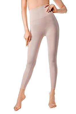 MD Women's High Waist Shapewear Compression Slimming Leggings Tight Tummy Hips and Thigh Medium Control Shaper
