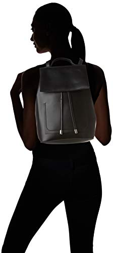 Look Womens Black Mary Minimal Look New Black Handbag Backpack New Bq1wFHE