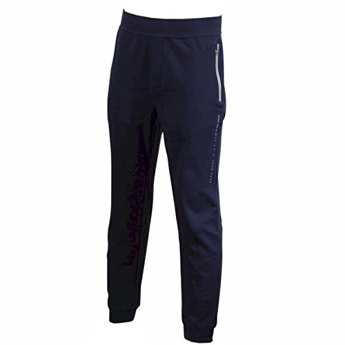 Hugo Boss Mens Long Pant Cuffs Navy Size: - Long Boss Pants Hugo
