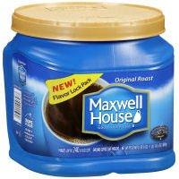 Maxwell House Original Roast Medium Coffee, 30.6 Ounce - 6 per case.