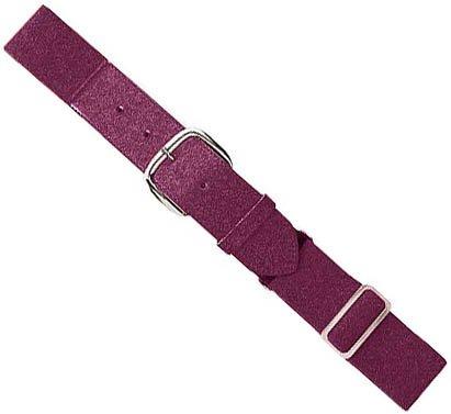 Authentic Baseball Belts Sports Shop Maroon Youth Baseball/Softball Adjustable Elastic Belt (Maroon Athletic Belt)