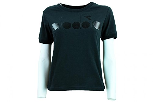 - Diadora Women's Clothing Short Sleeve t-Shirt 502.173298 01 80013 L.SS T-Shirt BL XS Nero