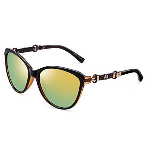 de Femme Miroir de Conduite Rond Femme Couleur B rétro lunettes soleil E Des Sport de Soleil polarisées pour Lunettes FwBStYHq