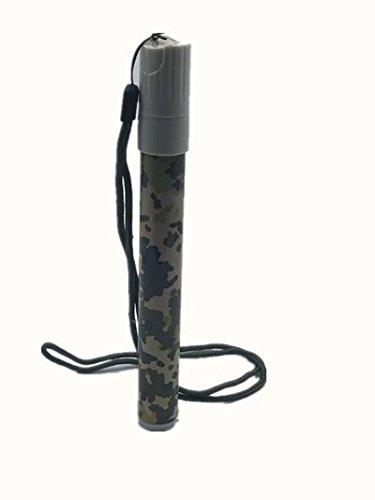 CONWEA Wasserfilter Outdoor Survival Tool Wasserreiniger Ideal zum Wandern, Rucksackreisen, Camping, Reisen und Notfall Vorbereitung(bunt) CWWFB-001