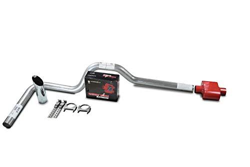 Silverado 99-06 dual exhaust 2.25 pipe Flowmaster 40  SW Tip Side Exit