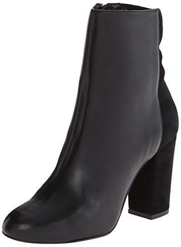 Women's Delman 'Nyla' Ankle Boot Black Calf Size 8 M