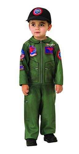 Rubie's Top Gun Infant Toddler Romper Costume