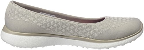 Beige Skechers Sneaker One Up Natural Microburst Donna qpr4pwXx