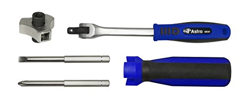 Astro Pneumatic Tool 9506 Interchangeable Finger Ratchet Screwdriver Set