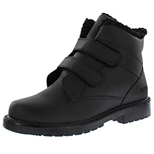 totes Men's Harold Dual Closure Ankle Boot (Also Available in Wide Width)
