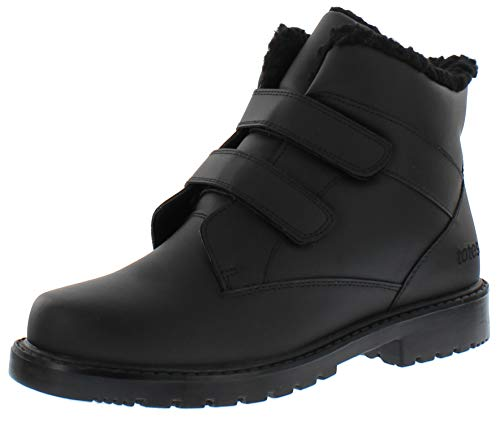 totes Harold Mens Snow Boots, Black, 10 M US
