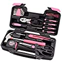 39-Piece Cartman Pink Tool Kit