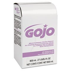 - GOJO Industries 9142 Moisturizing Hand Cream, Bag-in-Box 800 ml Refill, Floral Scent