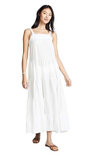 9seed Women's Sayulita Dress, White, P/S