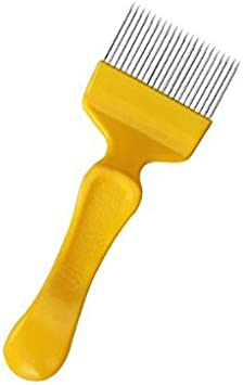 Bee Keeping Beekeeping Honey Comb Stainless Steel Tine Uncapping Fork YCju
