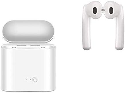 Bluetooth Earbuds Wireless Earphones Stereo Bluetooth 5.0 Earphones with Microphone with Charging Case Mini in Ear Earphones Sports Earpieces