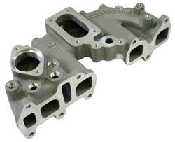 LCE 1032060-Offenhauser Performance Downdraft Intake Manifold 22R 2-Barrel Weber Carb. Flange/Single Plane