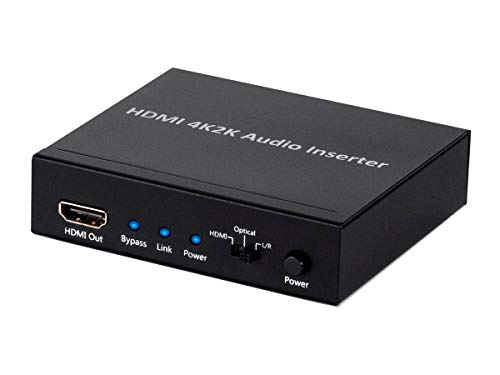 Monoprice BlackbirdTM 4K Series HDMI Audio Inserter