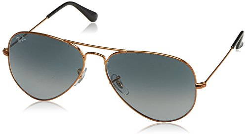 Ray-Ban Aviator Classic, Shiny Bronze, 58 ()