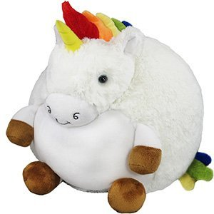 Squishable / Rainbow Unicorn Plush – 15″