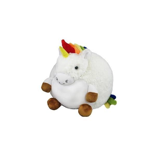 """Squishable / Rainbow Unicorn Plush - 15"""" 3"""