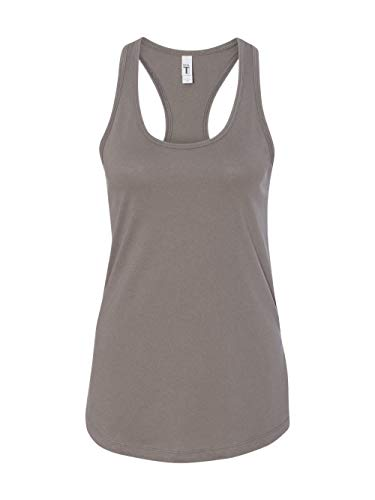 Next Level Women's Apparel Ideal Quality Tear-Away Tank Top, Warm Gray, XX-Large -