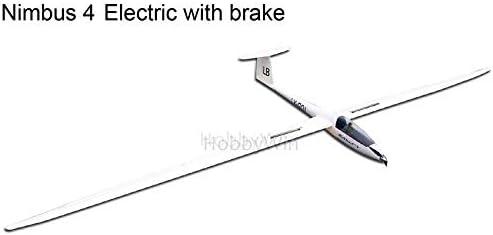 Amazon com: Nimbus 4000mm Electric Glider with Brake Retract Motor