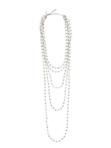 Kate Spade Sweet Nothings Multi Strand Crystal Necklace