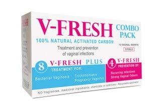 V-Fresh Combo pack - Is for Feminine Hygiene, treatment of Bacterial  vaginosis, BV