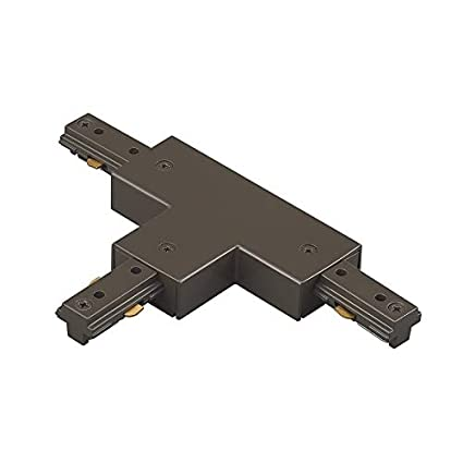 Wac Lighting Ht Db H Track T Connector Dark Bronze