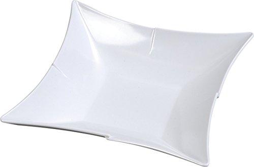 Carlisle 3331602 Rave Melamine Bowl  Starburst Design  2 Qt  Capacity  13  X 13  X 2 1 2   White  Case Of 6